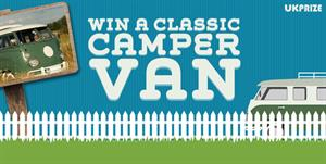 UKPrize.co.uk - Win a Classic Campervan  CPA offer